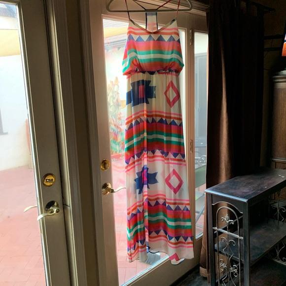 Dresses & Skirts - Boutique Maxi Dress, Southwest Print
